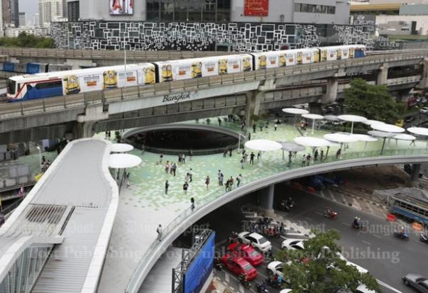 Bangkok S Newest Skywalk Bangkok Post Learning