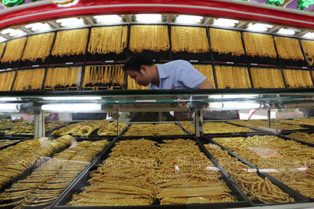 Gold prices up B50 to B19,950