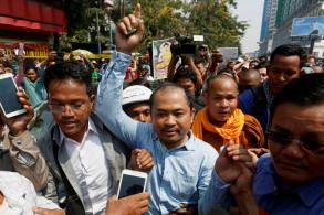 Critic of Cambodian leader jailed for defamation