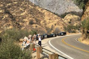 Ravine crash zone closed to public