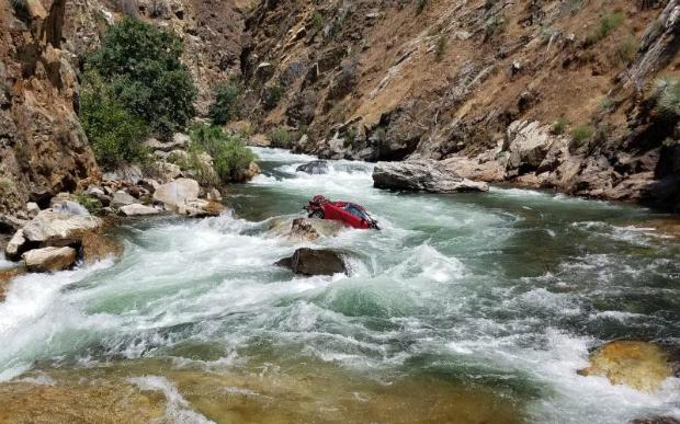 Vehicle parts found in California river could belong to missing couple