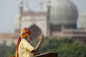 Indian prime minister pledges to wipe out graft
