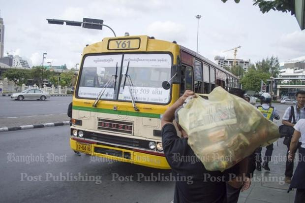 Confusion over new bus routes | Bangkok Post: learning