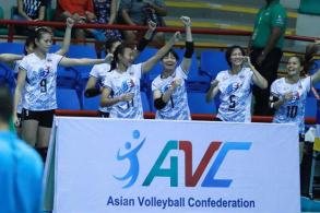 Thai spikers in Asian final after beating South Korea