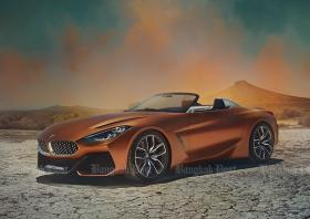 BMW previews new Z4 at 2017 Concours d'Elegance in Pebble Beach