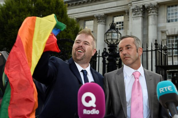 Britain's N.Ireland keeps ban on gay marriage