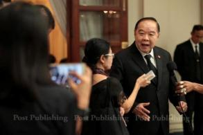 Prawit says reformers 'deserve chance'