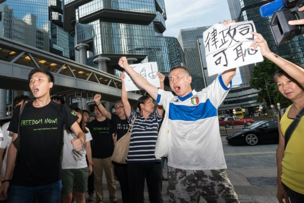 HK: No 'political motive' in jailing Joshua Wong, 2 others