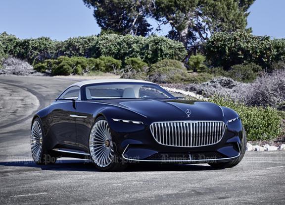 Mercedes-Maybach envisions a classy two-seat convertible | Bangkok Post: auto