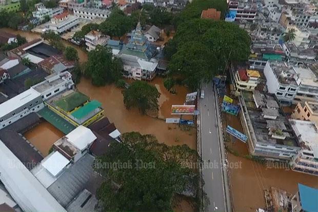 Flood death toll at 36 since early July   Bangkok Post: news