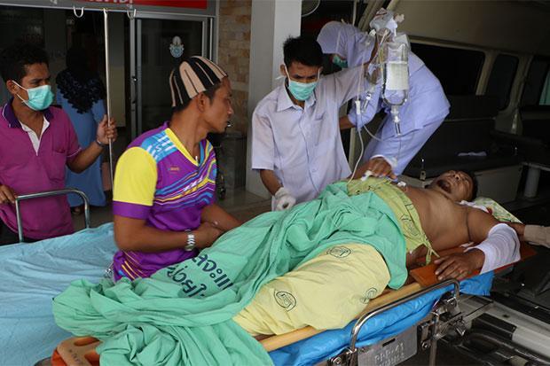 Village head wounded in Narathiwat   Bangkok Post: news