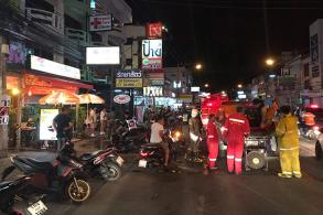Minor fire in central Pattaya