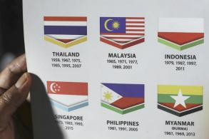 Malaysia apologises to Indonesia over flag blunder