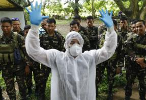 Philippines deploys troops to a 2nd province to fight bird flu