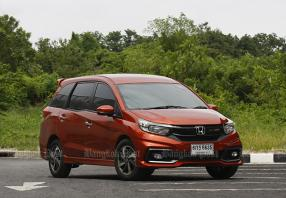 Honda Mobilio RS facelift (2017) review