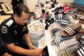 DSI seizes 160,000 pairs of contraband shoes