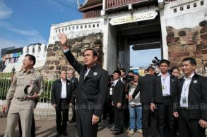 Prayut sends signals to Isan ahead of vote