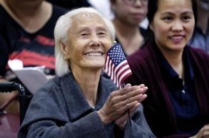 103-year-old Cambodian woman becomes US citizen