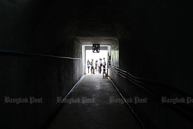 The royal tunnel