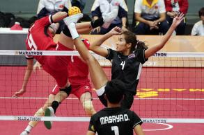Thai spikers complete gold double