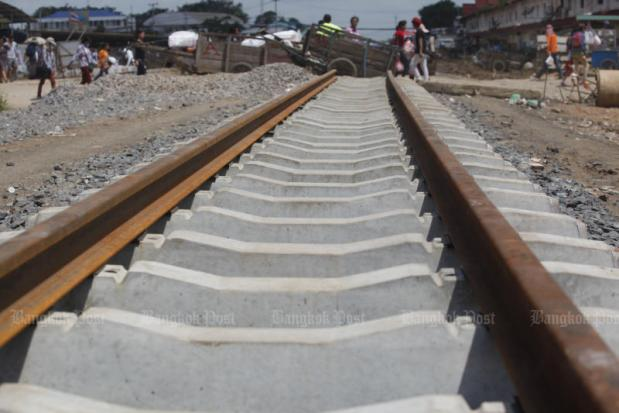 CAMBODIA-THAI RAIL LINK NOT IN TALKS AGENDA