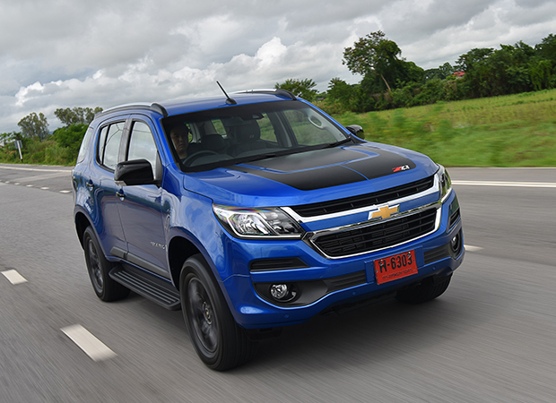 Chevrolet Trailblazer Z71 4x4 (2017) review | Bangkok Post: auto