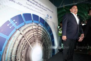 Tunnel opens to drain Bangkok's flood-prone streets