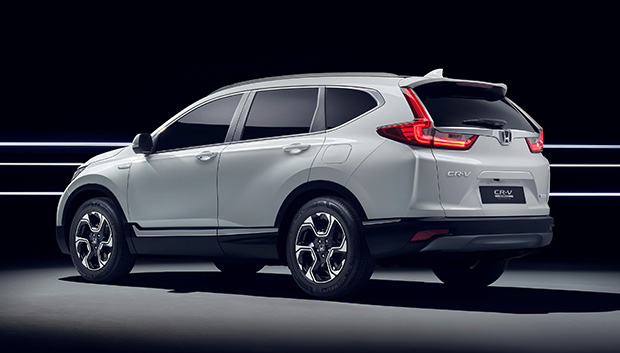Honda takes CR-V Hybrid to Europe | Bangkok Post: auto