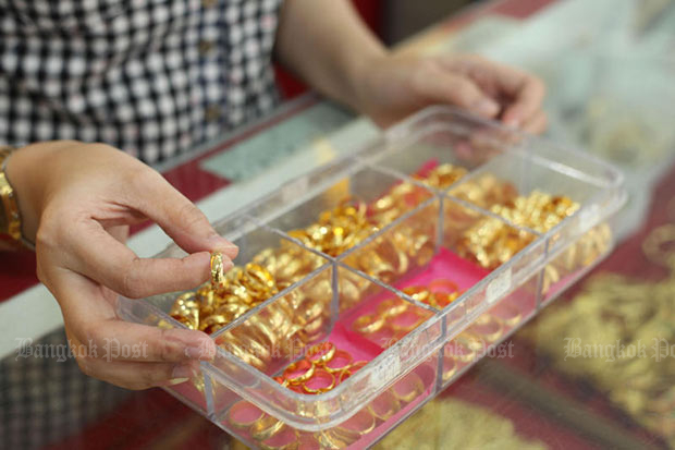 Gold prices down B50 to B21,100