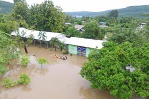 School hit for 8th time this year by flash flood
