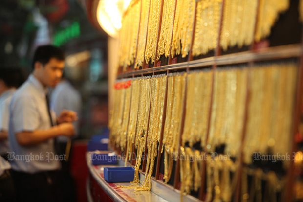 Gold prices down B100 to B21,000