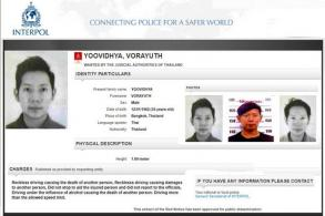Interpol posts fugitive Red Bull scion 'wanted' notice