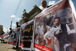 Rights group: Saudi-led airstrikes kill Yemeni children