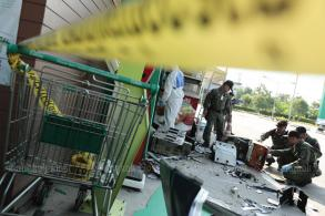 ATM blown up, money box stolen in Bangkok