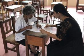80-year-old grandma with a thirst for learning