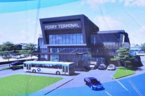 Construction begins of ferry terminal at Sattahip