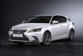 Lexus CT200h refreshed again for 2017