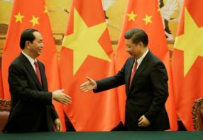 Senior Chinese leader says has 'shared destiny' with Vietnam