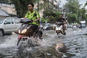 Heavy rain floods parts of Bangkok, more to come
