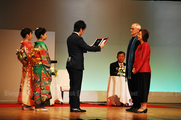 Thai couple awarded Grand Fukuoka Prize