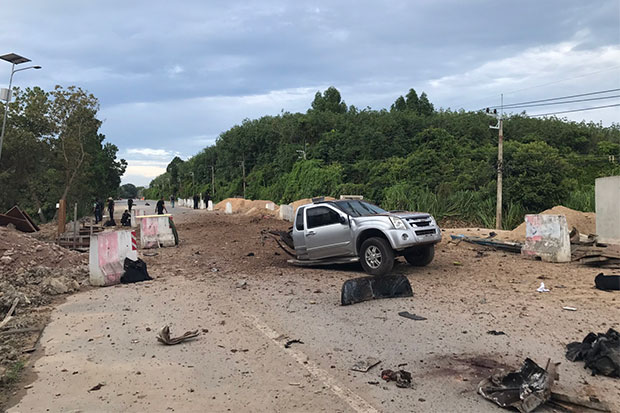 Ranger patrol bombed, 4 killed, 6 hurt in Pattani