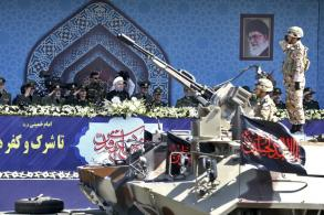 Iran shows off new missile