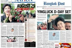 Yingluck flight takes on soap opera feel