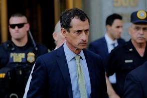 'Sick' US sexting addict Weiner sentenced to 21 months