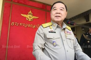 PM poll run up to him, says Prawit