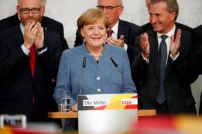 Merkel's lacklustre win is good for the nation