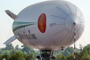 Pheu Thai targets Abhisit in blimp case