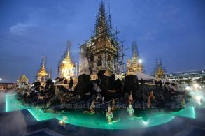 Drone flying ban during royal cremation ceremony