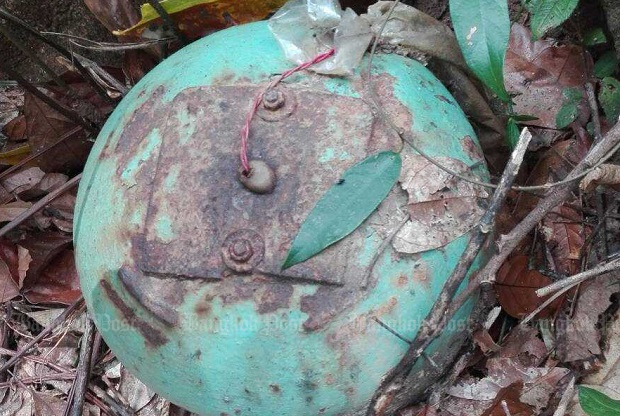 20kg bomb found, defused in Narathiwat