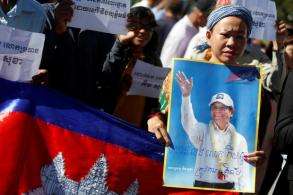 Cambodian court rejects appeal to free opposition leader